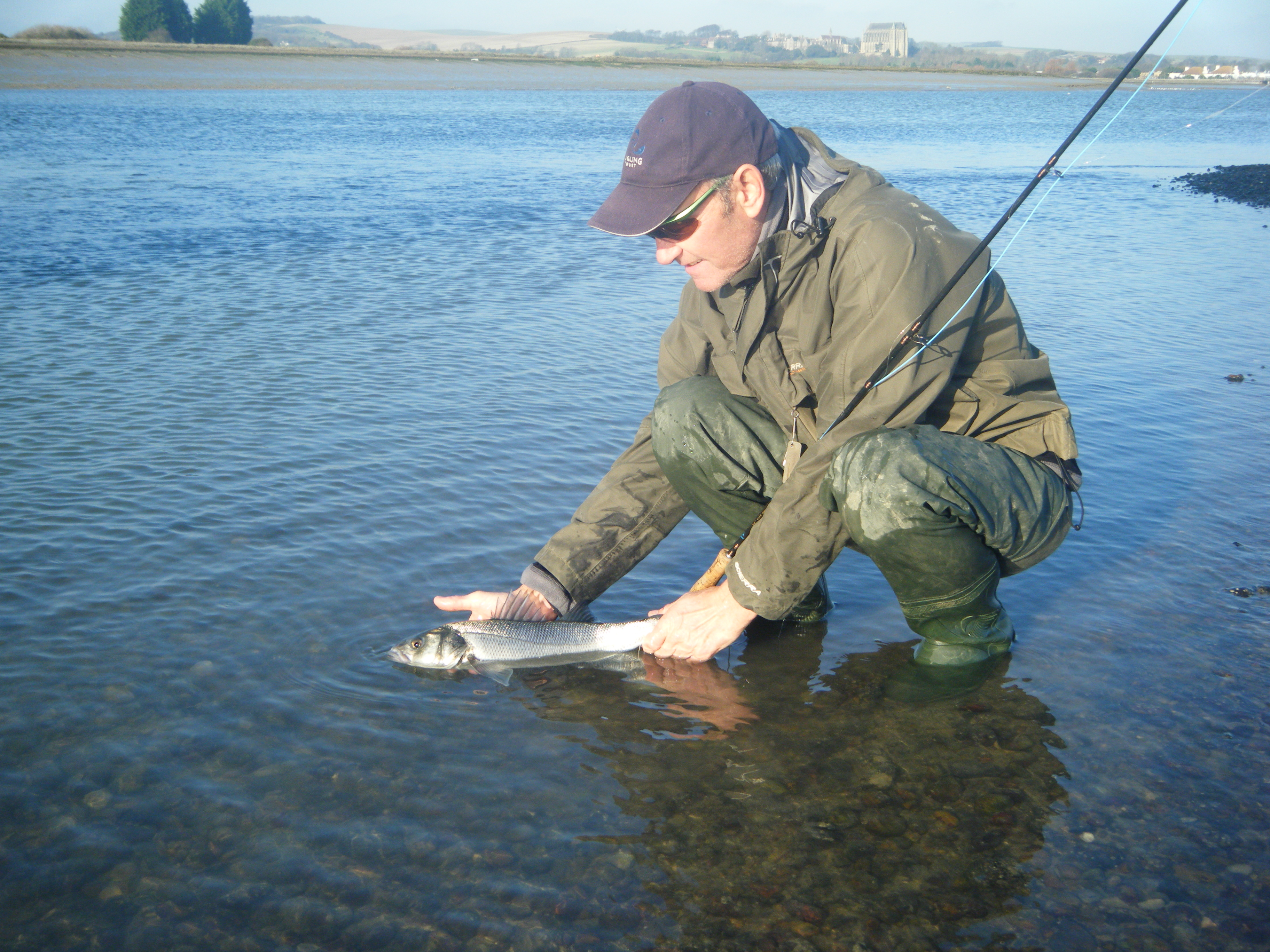 Bass fly fishing sussex for Bass fly fishing